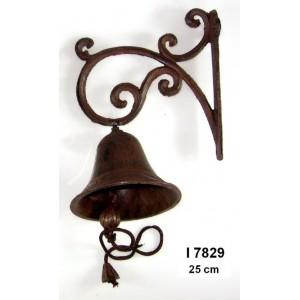 Litinový zvonek Brown S