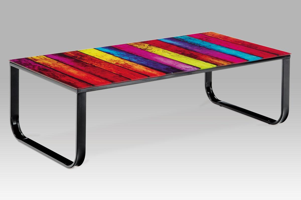 Kovový konferenční stolek Color