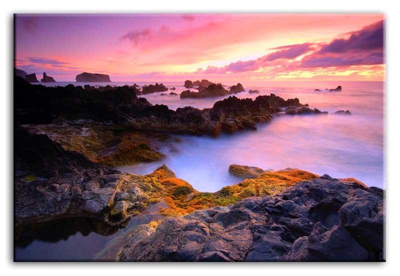Obraz na zeď Západ slunce - moře