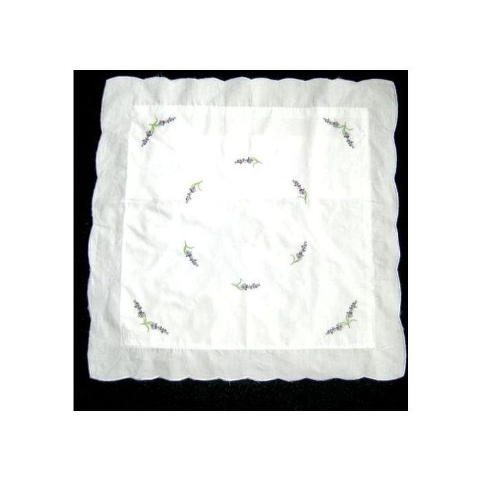 Povlak na polštář Levandule vyšívaný