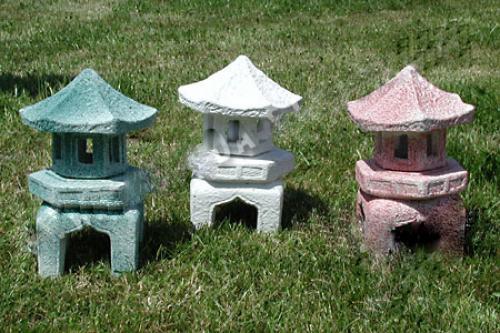 Lampa Japonská - bílá