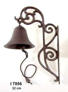 Litinový zvonek Brown