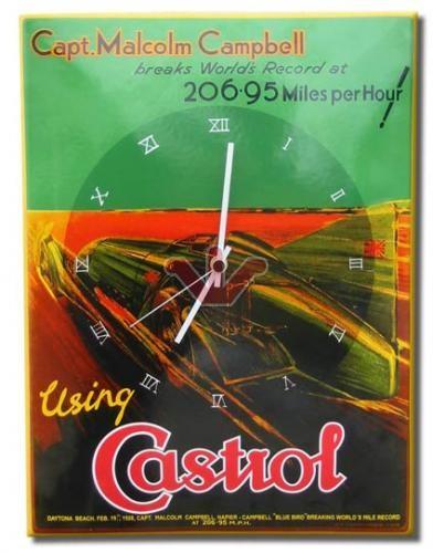 Smaltované hodiny Catrol