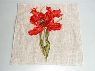 Povlak na polštář Tulipán