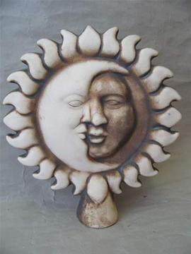 Keramická Plotovka Měsícslunce natural