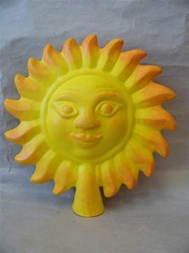 Keramická Plotovka Slunce