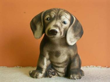 Keramický pes Jezevčík