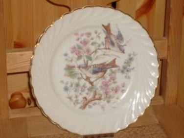 Porcelánový talíř Rybáře Ptáčci II před rokem 1918