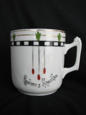 Porcelánový hrnek Pozdrav z Lipníka