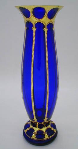 Váza Luisance grand modrá