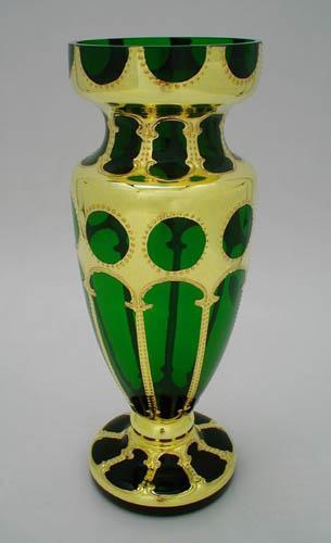 Váza Lumier S zelená