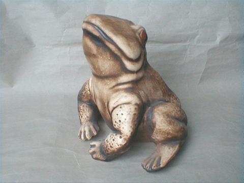 Žába Skokan sedící
