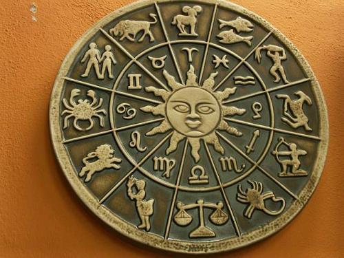 Keramika na zeď Horoskop