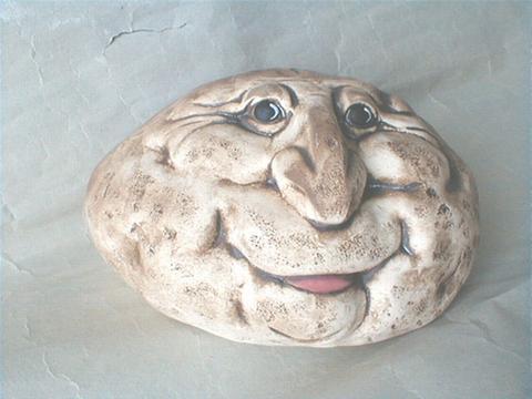 Keramický kámen střední s jazýčkem