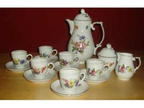 Porcelánový servis Schumann