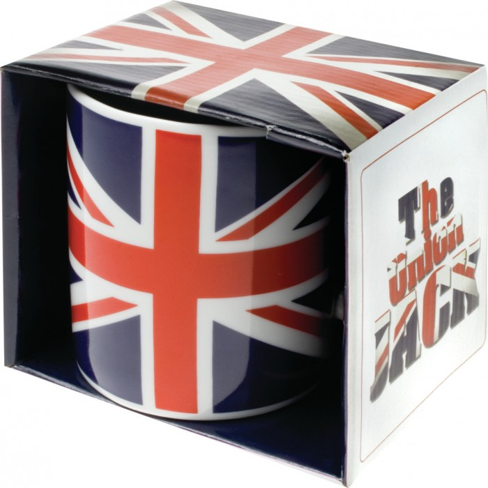 Keramický hrnek Union Jack - anglická vlajka