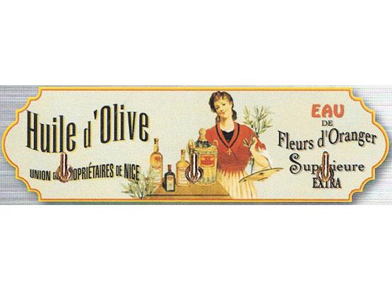 Kovový věšák Huile d'Olive