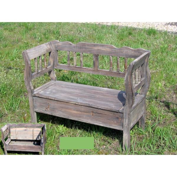 Dřevěná lavice Wood style lavička