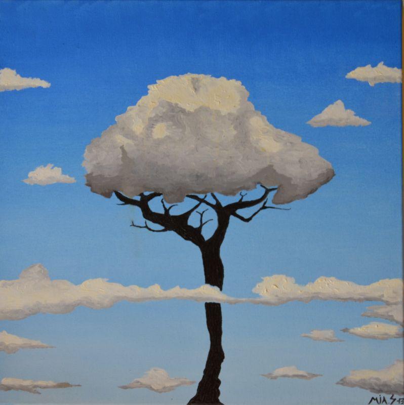 Obraz - olej Strom splněných přání Prodáno