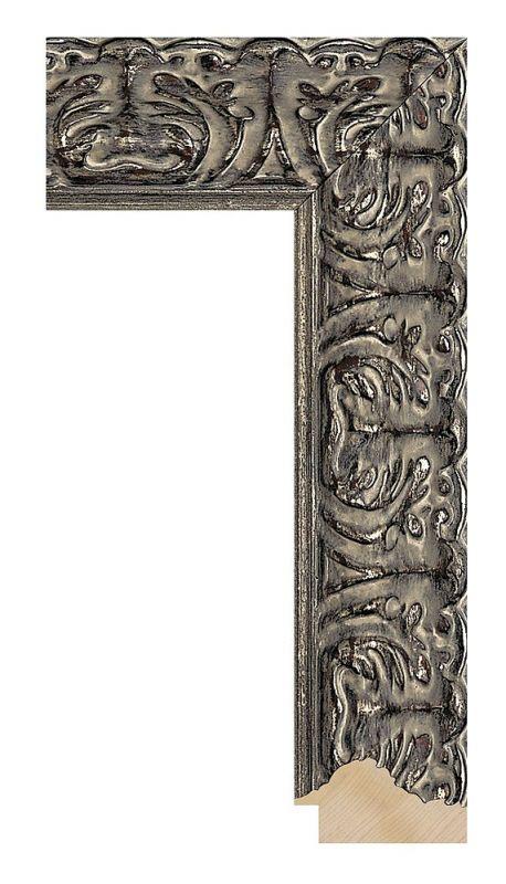 Luxusní dřevěný rám Silver klasik
