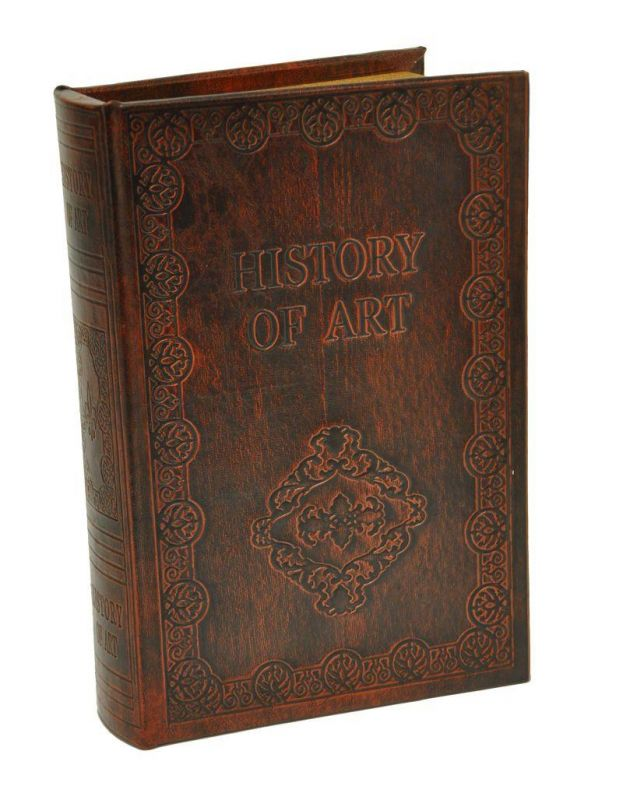 Dřevěná skříňka - Kniha History of Art