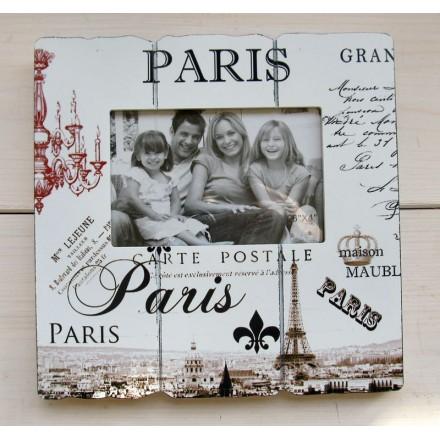 Fotorámeček Paris Carte Postale
