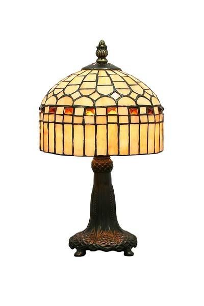 Stolní vitrážová lampa Harmony