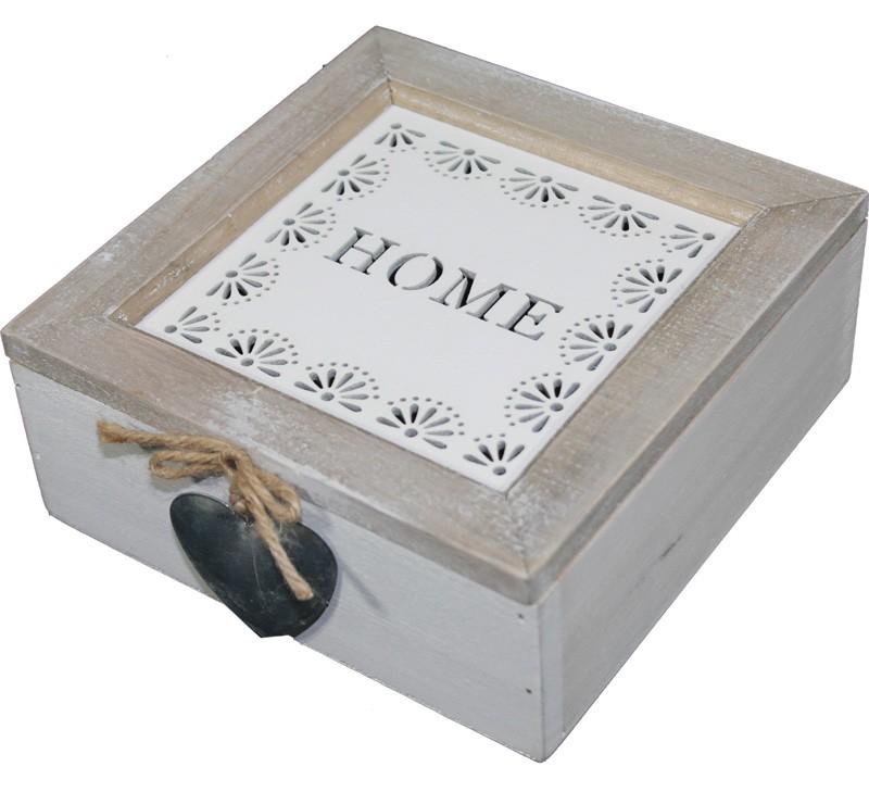 Dřevěná skříňka Home