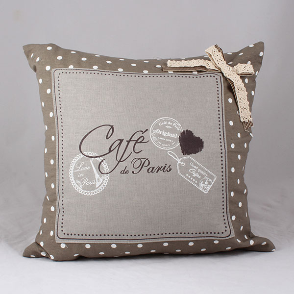 Povlak na polštář Cafe de Paris T