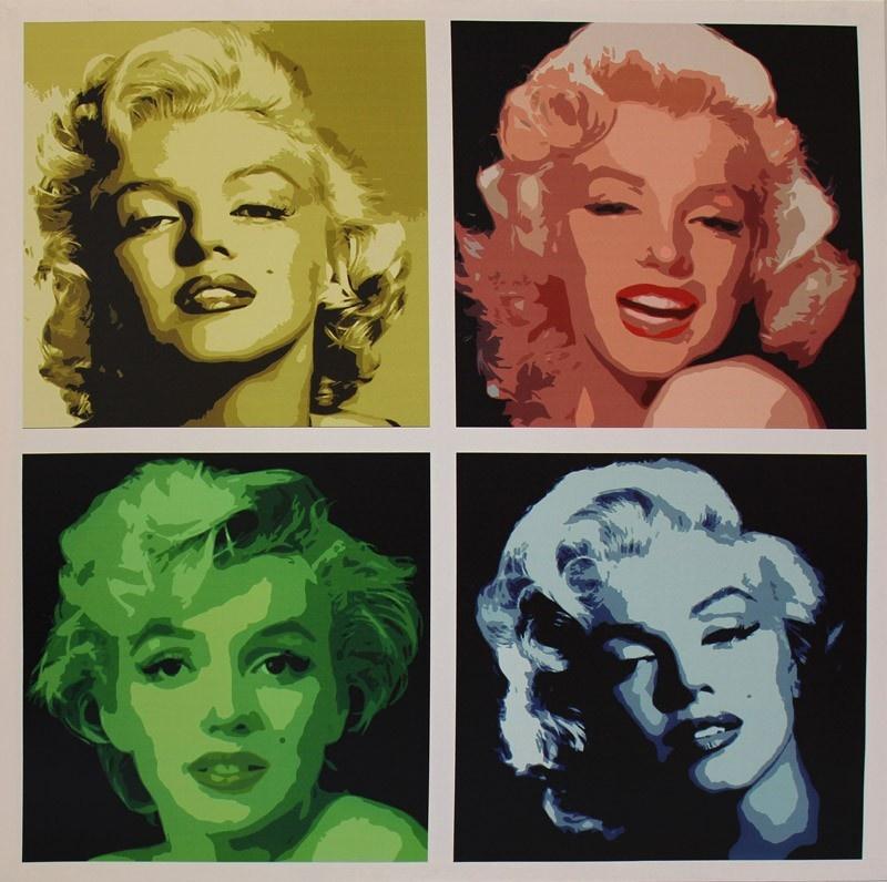 Obraz Marilyn Monroe - Color