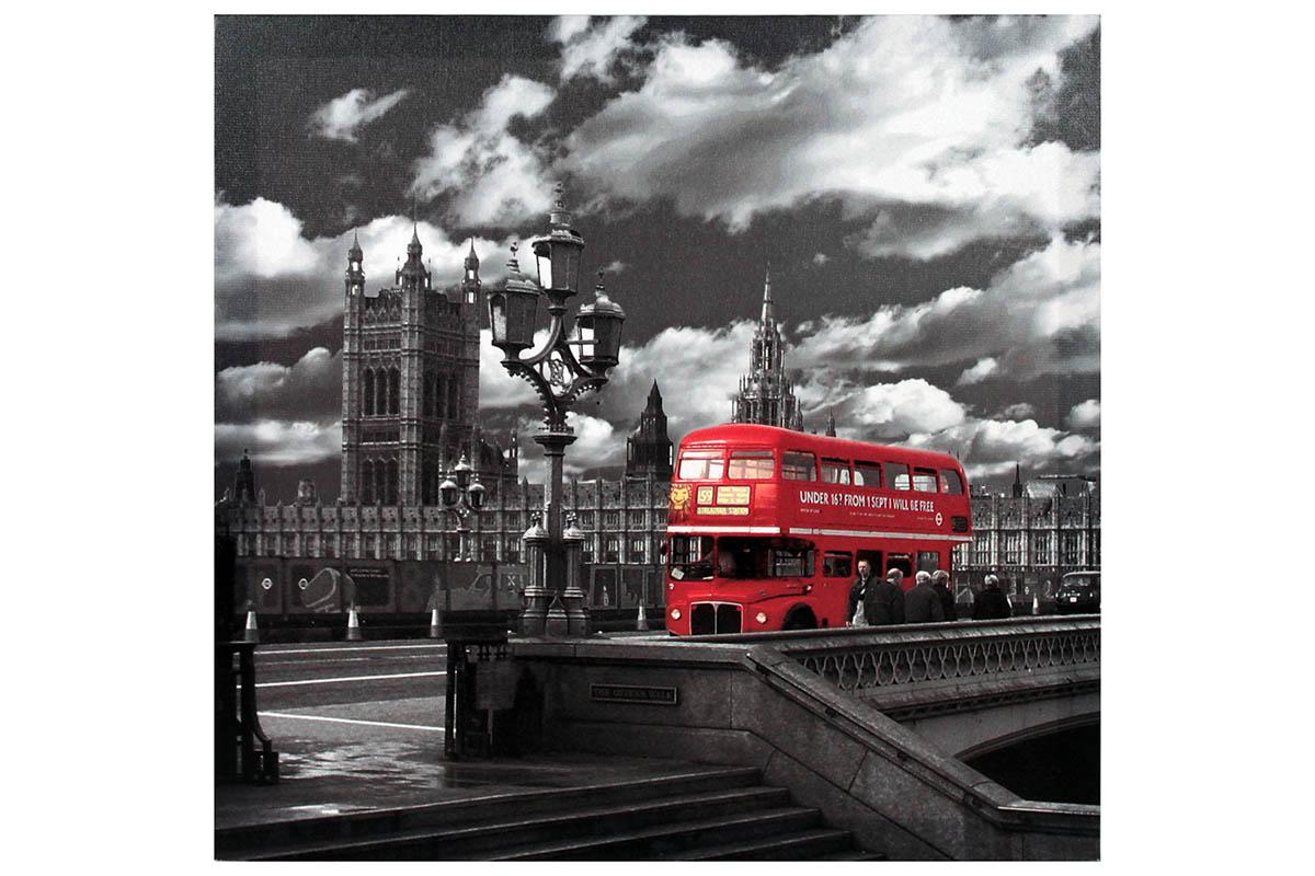 Obraz na zeď London - Red Bus