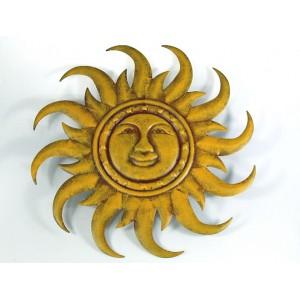 Kovové slunce zlaté