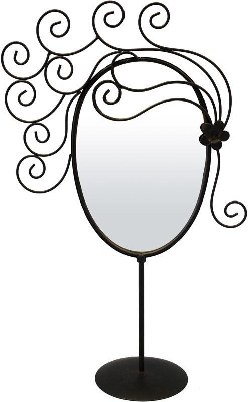 Kovové zrcadlo Wind