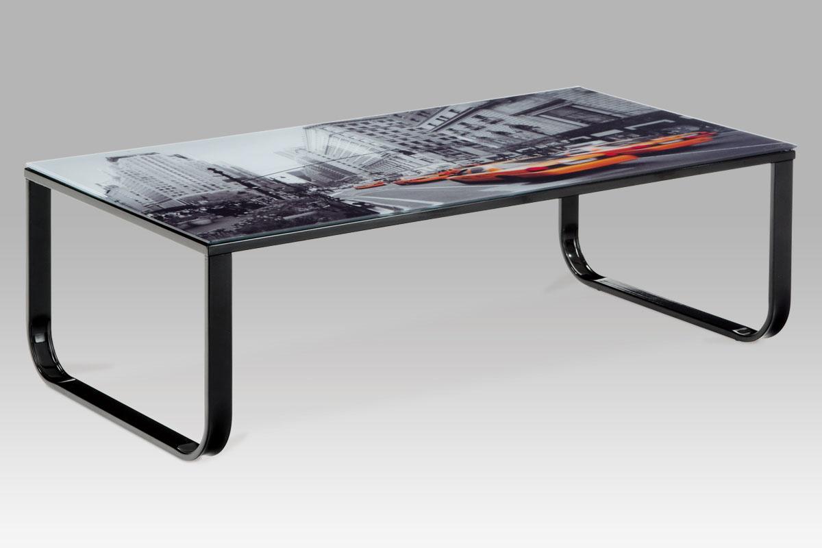 Kovový konferenční stolek Taxi - New york