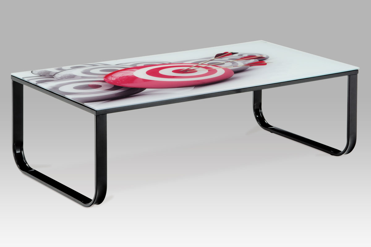 Kovový konferenční stolek Terč