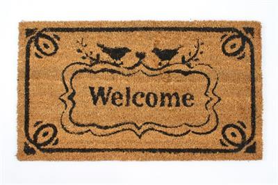 Rohožka před dveře Welcome