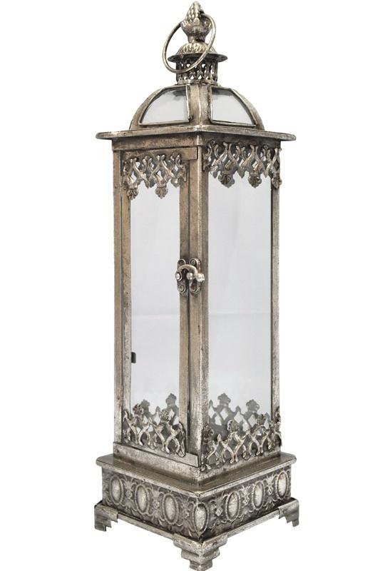 Kovová lampa - lucerna Mombay