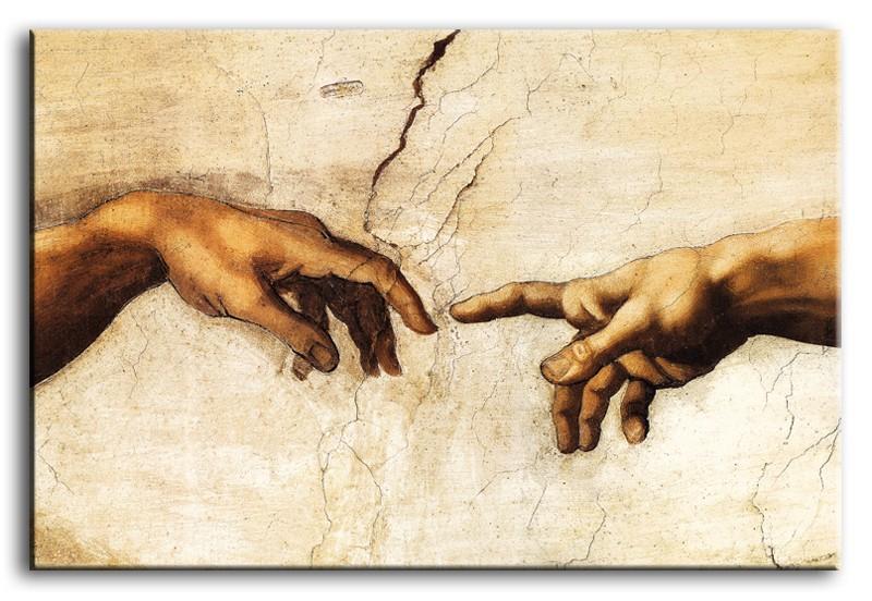 Obraz na zeď - Leonardo da Vinci Ruce