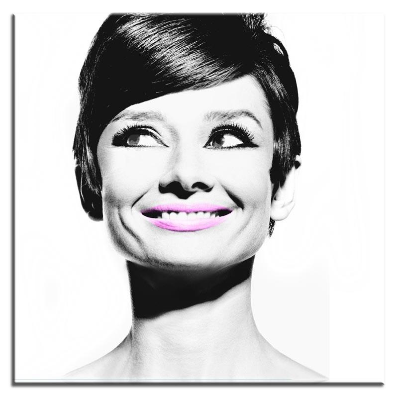 Obraz na zeď Audrey Hepburn Smile