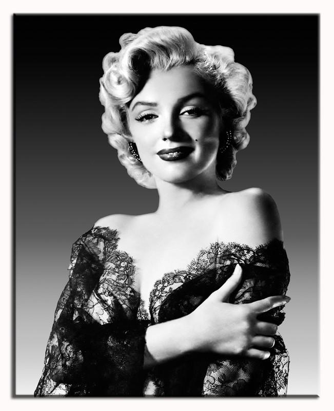 Obraz na zeď Marilyn Monroe L - černé šaty