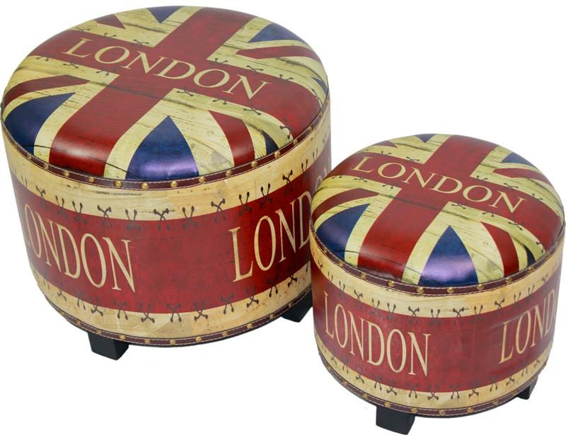 Čalouněné sedáky London 1+1