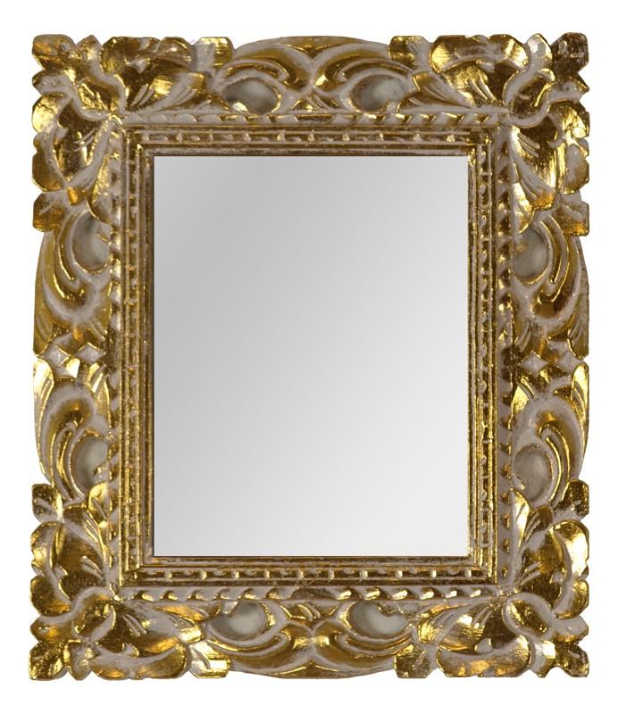 Dřevěné zrcadlo třešňový rám