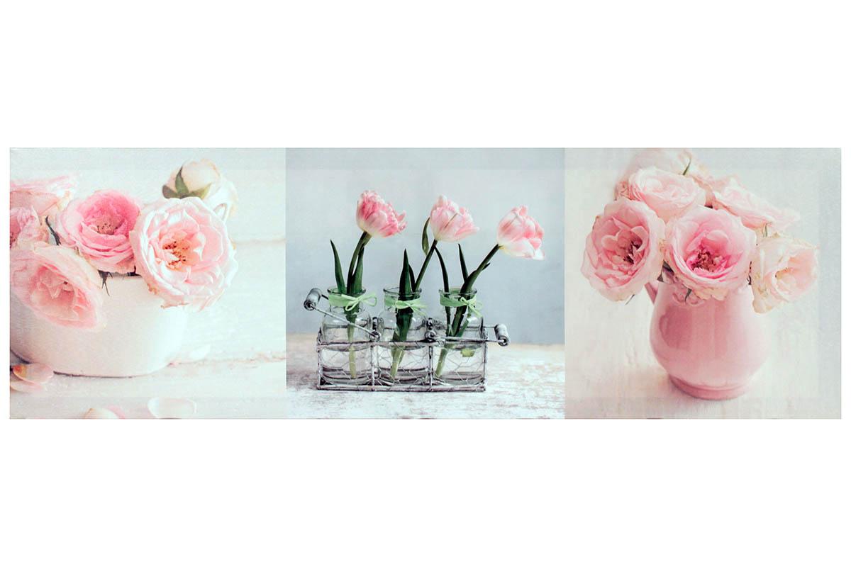 Obraz Růže - Trojobraz