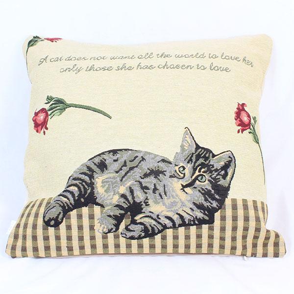 Povlak na polštář Kočička