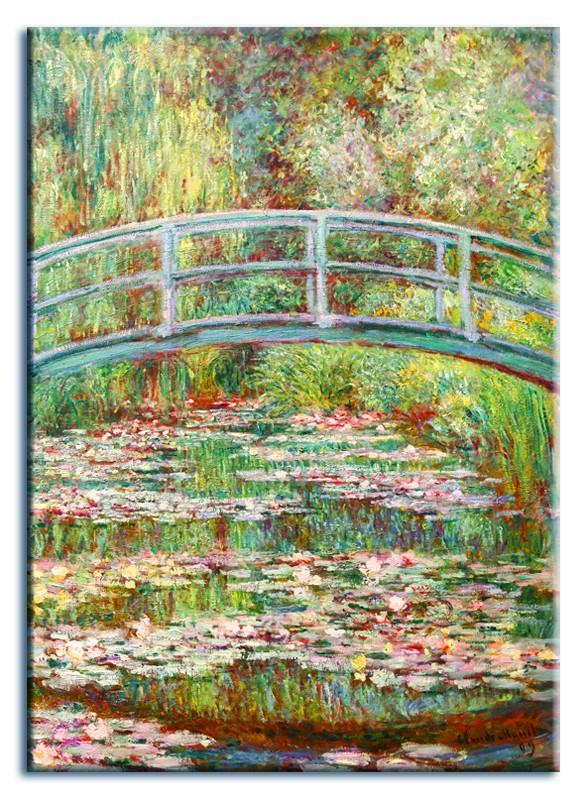 Obraz na zeď Kytice - Most Claude Monet