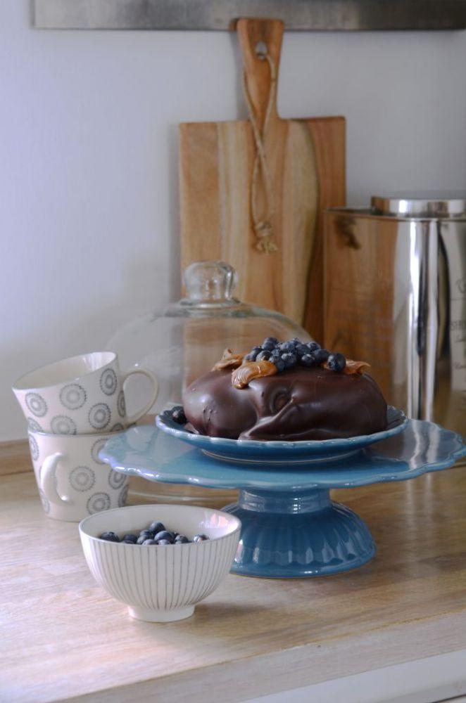 Keramický dortový stojan Mynte Cornflower