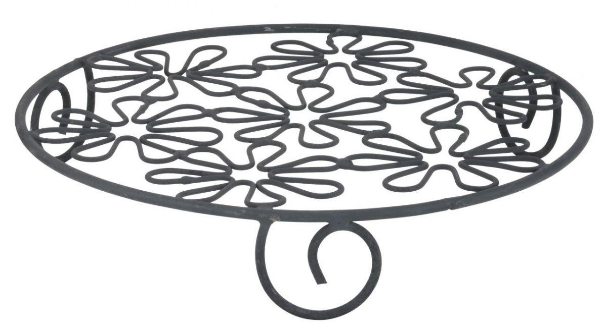 Kovová podložka pod hrnec Flower