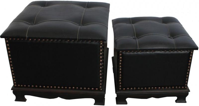 Čalouněná stolička Chesterfield Sendl L