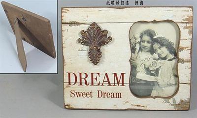 Dřevěný fotorámeček Sweet Dreams