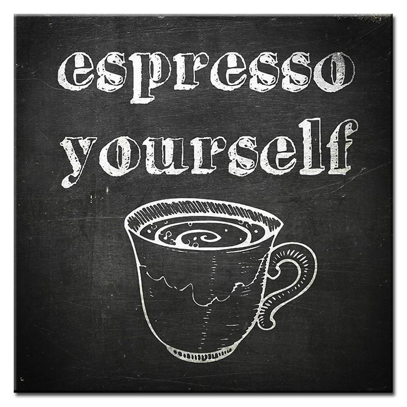 Obraz na plátně Espresso yourselr